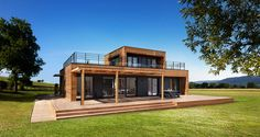 maison a ossature bois moov4 avec ajout étage