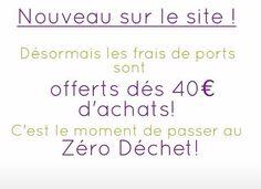 On offre les frais de port! On en profite #offrefraisdeport #zerodechet #ZCZD