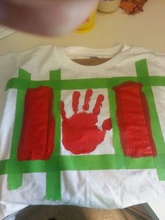 Canada day shirt for the kids