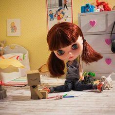 #blythe #blythes #doll #danbo #instatoy #instablythe #diorama - @maiki0703- #webstagram