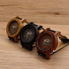 Mens RoseWood Wooden Watch