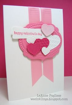 Stampin Up new hearts
