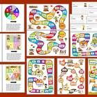 $1.95 Sight Word Literacy Centers Gameboard Activities – 5 Different Games – Set 2This file contains 5 different gameboards for the last 109 Dolch s...