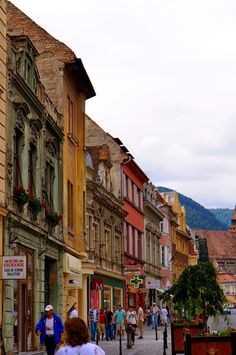 Stone and I spent the night in Romania's mysterious Transylvania region, Brasov, which has been strongly associated with vampires, werewolf'. Brasov Romania, Carpathian Mountains, Black Church, Medieval Town, Old City, Eastern Europe, Street View, Restaurant, Old Town
