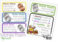 Money Poem and Test FREEBIE Updates!