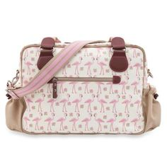 The Pink Lining Not So Plain Jane Flamingo Walk Diaper Bag is a functional and chic bag to hold your diapering and personal essentials. Featuring a whimsical flamingo design, this adorable bag will keep you looking stylish and organized. Flamingo Nursery, Baby Doll Nursery, Girl Nursery, Nursery Ideas, Cute Diaper Bags, Cute Bags, Little Baby Girl, Little Babies, Baby Girls