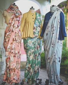 Ideas for baby clothes stylish jackets Trendy Sarees, Stylish Sarees, Saree Draping Styles, Saree Styles, Stylish Outfits, Fashion Outfits, Swag Fashion, Dress Fashion, Fashion Clothes