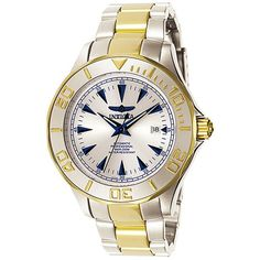 Invicta Mens 7036 Signature Collection Pro Diver Ocean Ghost TwoTone Automatic Watch *** You can find out more details at the link of the image.