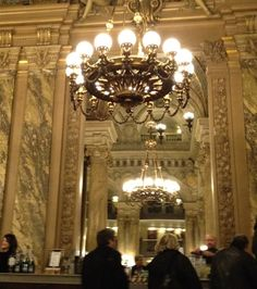At the bar. Opera, Champagne, Old Things, Ceiling Lights, Paris, Home Decor, Montmartre Paris, Decoration Home, Opera House