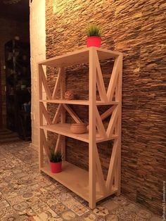 Мебель ручной работы. Ярмарка Мастеров - ручная работа. Купить Этажерка JACKDAW.. Handmade. Мебель из дерева, loft