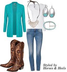 Turquoise | Horses & Heels