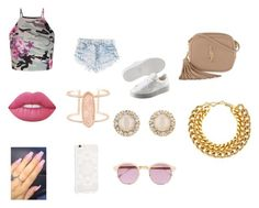 """""""Untitled #47"""" by shiyafrazierx on Polyvore featuring New Look, Puma, Yves Saint Laurent, Lime Crime, Kendra Scott, Kate Spade, A.V. Max and Sheriff&Cherry"""