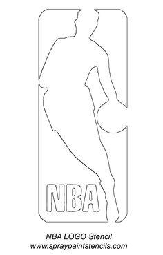 nba-logo-stencil.gif (1050×1644)