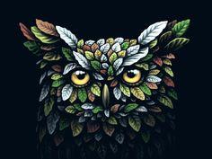 40 Stunning Owl Illustration for Your Inspiration - http://smashfreakz.com/2017/10/owl-illustration-for-inspiration/