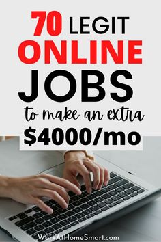 Want to make money online working from the comfort of your home? If so, here's a list of companies with remote jobs hiring worldwide. Companies Hiring, Jobs Hiring, Legit Online Jobs, Online Work, Work From Home Companies, Work From Home Jobs, Make Money Online, How To Make Money, Remote