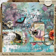 Artful Intentions: Papillon Place [Art Journaling Kit]