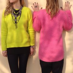 Colors Passion! Casual look! Follow us on Instagram Theblondegirlsdiaries