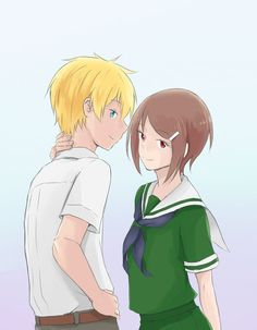 Takari. I don´t ship it but the drawing is cute