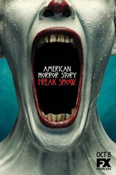 'American Horror Story: Freak Show' poster This model is the beautiful and talented Ania Gerasimova Spiering.... for American Horror Story; Freak Show