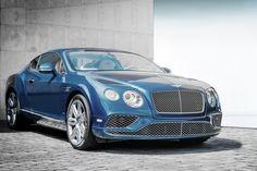 BENTLEY CONTINENTAL GT III - blue Bentley, luxury British car brand #bentley #bentleycontinental #bentleycontinentalGT #continentalgtIII #britishcar #luxurycar #expensivecar
