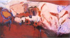 Alberto Boschi - paesaggio - 2008 - olio su tela - cm 70 × 130