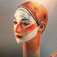"""舟越 桂  """"森の奥の水のほとり"""" 2009 Modern Sculpture, Wood Sculpture, Right Brain, Ceramic Clay, Clay Art, Wood Art, New Art, Art Dolls, Sculpting"""