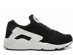 Cheap Priced Nike Air Huarache Black White Green Glow In the Dark Shoes Uk, Nike Shoes, Grey Huaraches, Nike Officiel, Black Huarache, Huarache Run, Air Max Sneakers, Sneakers Nike, Baskets