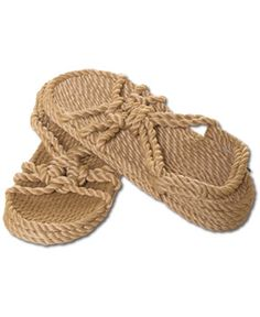 SoulFlower-NEW! Wedge Rope Sandals-$40.00