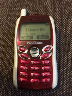 Panasonic - Silver (Unlocked) Cellular Phone for sale online Mobiles, Vintage Phones, Phones For Sale, Flip Phones, Electronic Devices, Blackberry, Smartphone, Sim, Mobile Phones