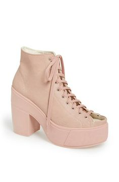 c0cd8cd8233 Topshop  Atom  Platform Boot available at  Nordstrom Pink Ankle Boots