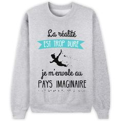 French Harry Potter shirt - Reality is too much. I'm leaving for Hogwarts. Mode Harry Potter, Harry Potter Shirts, Harry Potter Style, Harry Potter Outfits, Sweatshirt Dress, Graphic Sweatshirt, Jarry Potter, Geek Mode, T Shorts