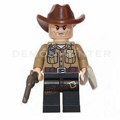 Lego Rick Grimes The Walking Dead Custom