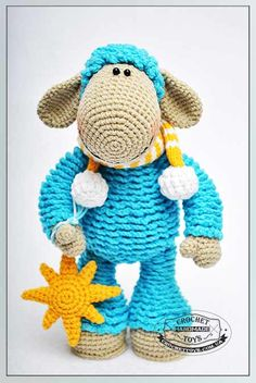 This is the cutest crochet sheep ever!!