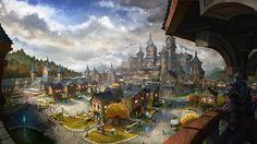 Elder Scrolls online concept art by Rayph on DeviantArt
