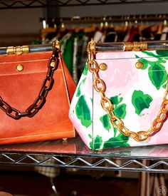 Tory talks about the season's handbags, including one whose name hits very close to home.
