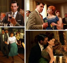 """Mad Men"" Collage"
