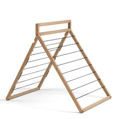 The Skagerak Dryp is a stylish, flexible clothes-drier that has been designed by the prize-winning Danish designer Rikke Frost. Indoor Clothes Drying Rack, Drying Rack Laundry, Clothes Racks, Standing Closet, Rack Design, Clothes Horse, Solid Oak, Home Improvement, Furniture Design