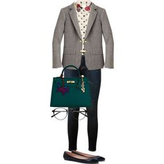 romantic casual_2 by yourselffashion on Polyvore featuring RED Valentino, J.Crew, Frame Denim, Zara and Hermès