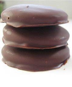 DIY Girl Scout Thin Mint Cookies! Mmmmm.