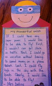 Super Hero writing. Maybe do with Super Hero Father's Day Card?