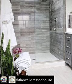 In love with this bathroom! Those tiles are are gorgeous  credit: @jnathome Repost from @thewelldressedhouse using @RepostRegramApp -  #beautifulhome#classyinteriors#luxurydesign#elledecor#housebeautiful#betterhomesandgardens#instadecor#dreamhouse#homegoals#ighome#bhg#myhousebeautiful#inspireme#instadesign#homedecor#interiorlovers#interiorandhome#interiorforinspo#ambientes#homestaging#instahomes#entrance#luxuryrealestate…