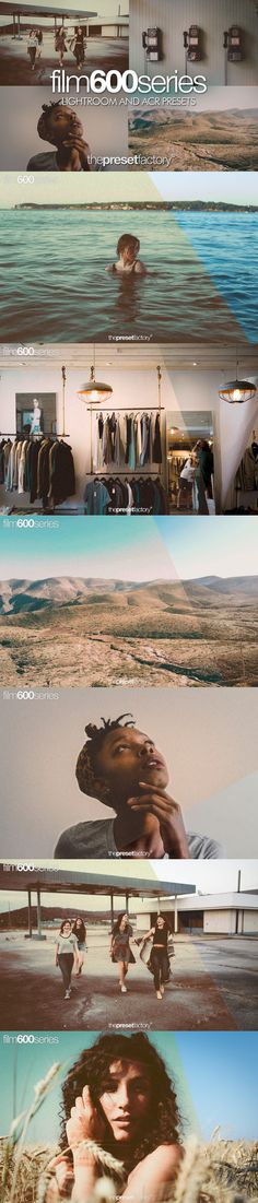 Film 600 series - Lightroom and ACR. Plug-ins. $15.00