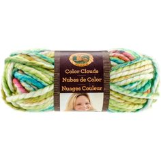 Lion Brand Color Clouds Yarn-Morning Dew - Morning Dew