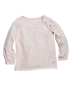 Love this Orchid Heather Organic Tee - Infant, Toddler & Girls on #zulily! #zulilyfinds