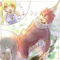 Oh que tierno Natsu ♡♡