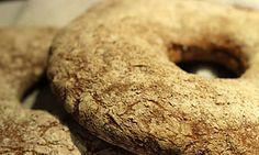 Finnish rye bread with 100% rye flour.