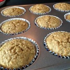 Toddler Muffins - zucchini, carrots, and banana. These are amazing!