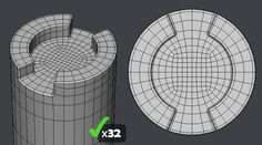FAQ: How u model dem shapes? Hands-on mini-tuts for mechanical sub-d AKA ADD MORE GEO - Page 44 - Polycount Forum