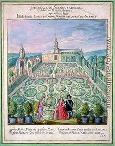 Dutch Garden, 1650 - Johann Jakob Walther