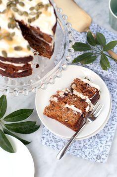 Carrot Cake Saludable - Espacio Culinario